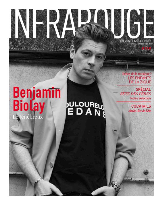 Couverture de magazine du mois de Juin 2018