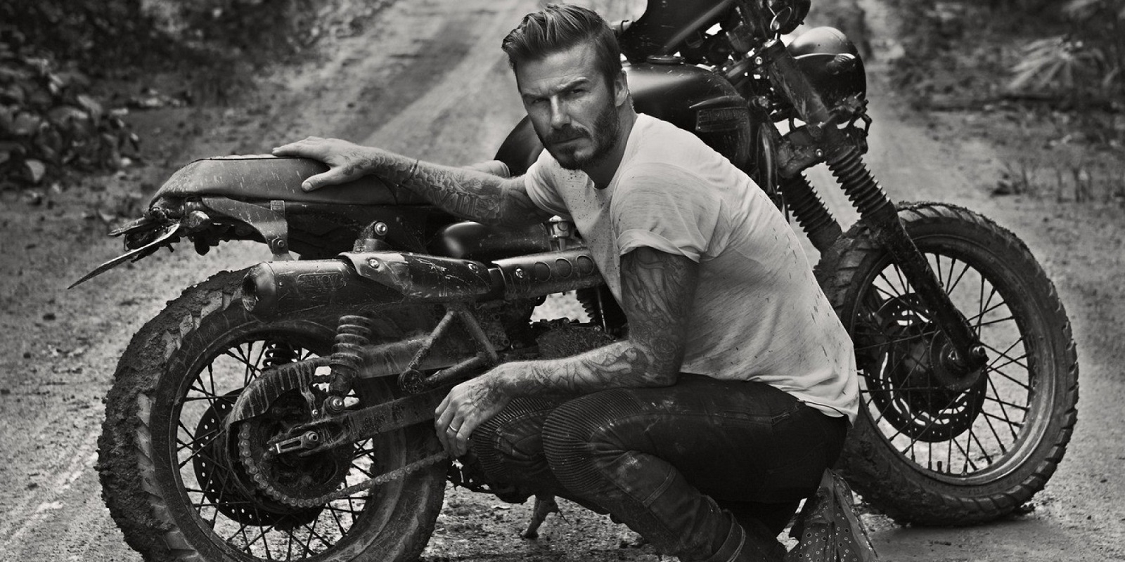 Programme Name: David Beckham Into The Unknown - TX: 09/06/2014 - Episode: n/a (No. n/a) - Picture Shows: PLEASE CREDIT ANTHONY MANDLER **No billboard or advertising use** David Beckham in the Amazon Rainforest David Beckham - (C) Anthony Mandler - Photographer: Anthony Mandler