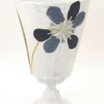 Vase Iris Bleu.
