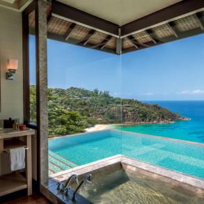 5 baignoires d'hôtels avec vue