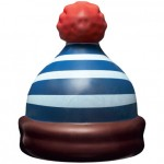 C'est le pompon !  Montagnard, marin, flocon ou père Noël: quel bonnet en chocolat noir, blanc ou au lait choisir? 13euros. L'Éclair de génie Christophe Adam, La Fabrique, 32, rue Notre-Dame des Victoires, 75002 Paris. www.leclairdegenie.com