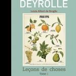 Leçons de choses Tome 2 par Louis Albert de Broglie 29 euros