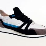 Sneakers Vulture Delicate Run x Ambassade. Fabriquées à Cholet par des artisans, ces baskets prônent l'utilisation de matériaux nobles et originaux, comme la peau de requin ou les cuirs exotiques pour envelopper vos pieds. 555 euros, disponible sur https://ambassade-excellence.com
