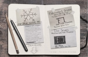 Fahrenheit Seven Sketchbook 1