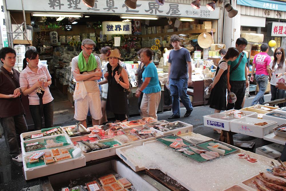 Le marché aux poissons Tsukiji