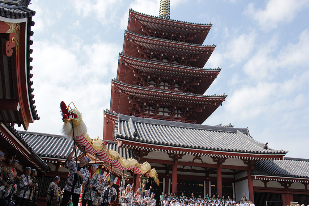 Le temple bouddhiste de Sensō-ji