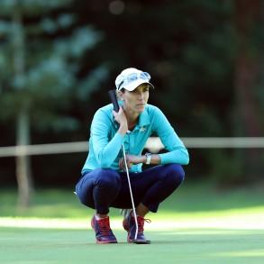 Diana Luna, golf-trotteuse