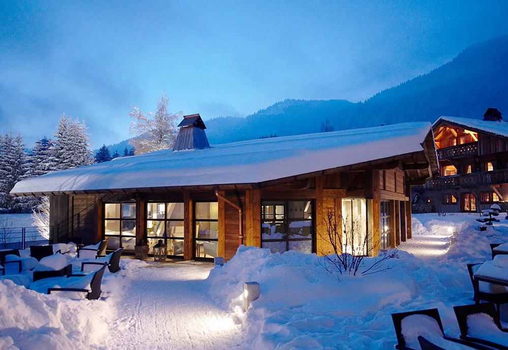 hotel chalet du mont d arbois infrarouge