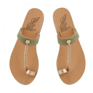 greek-sandals-melpomeni_pink_metal_sand_top_view_HIGH