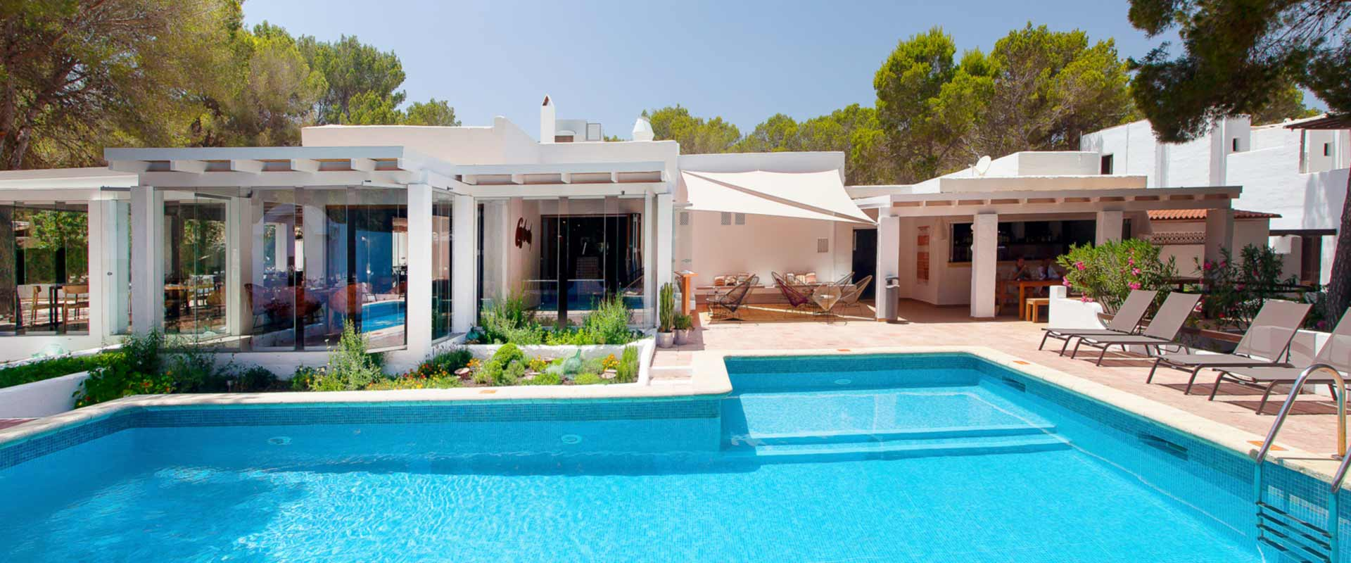 H tel casbah formentera infrarouge for Hotels formentera