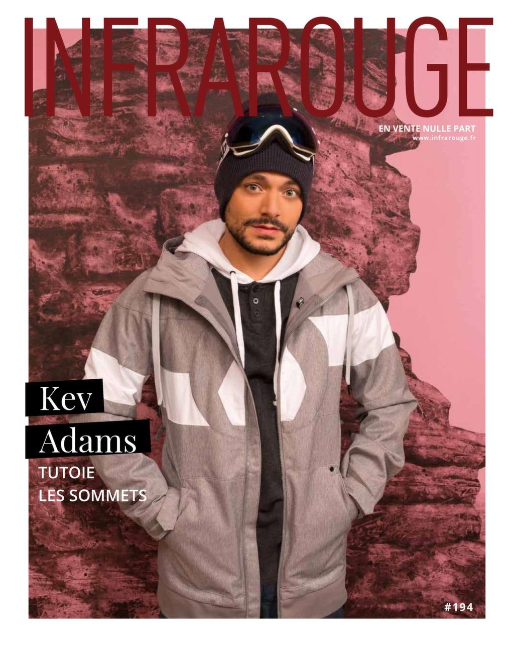 Couverture de magazine du mois de Janvier 2018