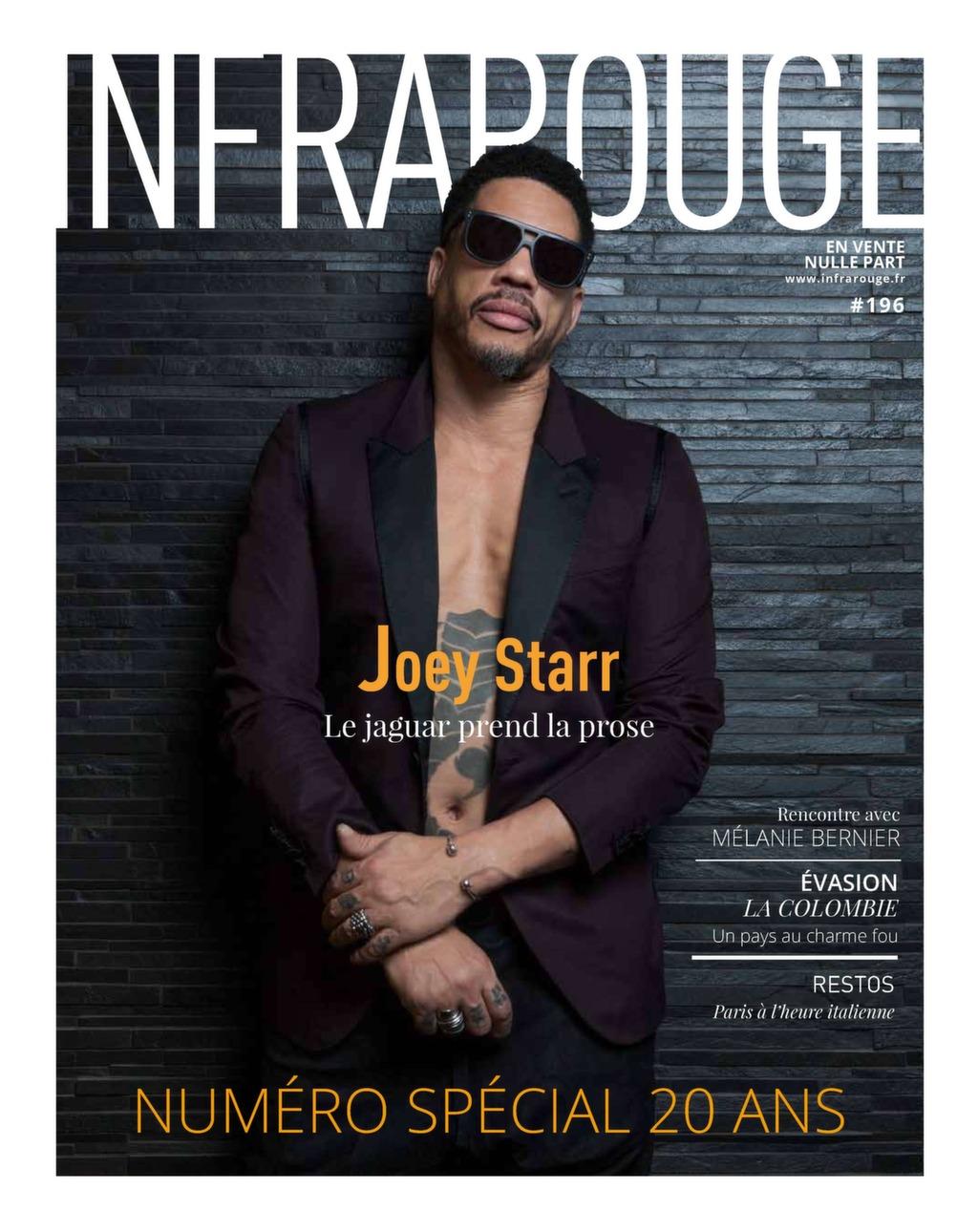 Couverture de magazine du mois de Mars 2018