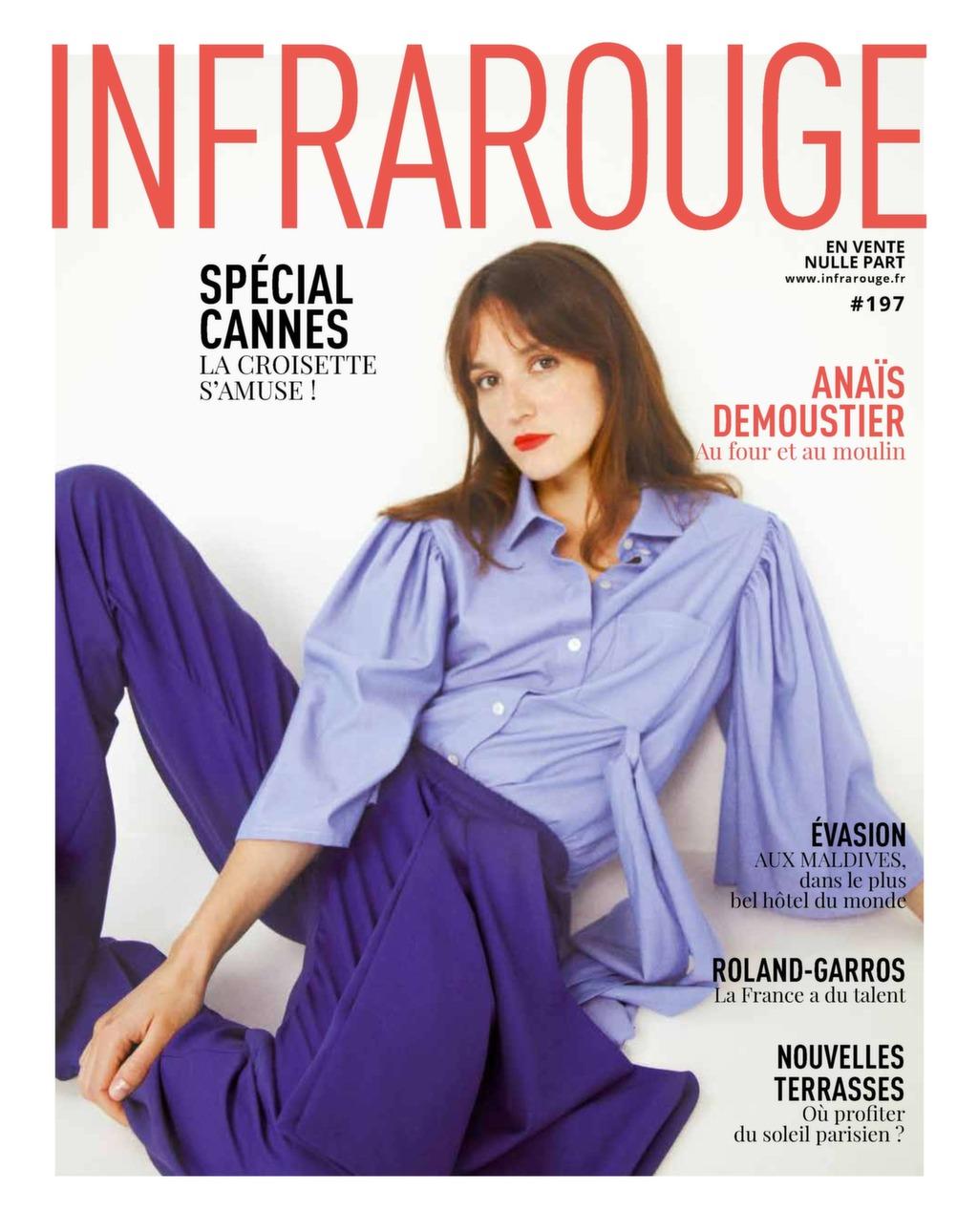 Couverture de magazine du mois de Mai 2018