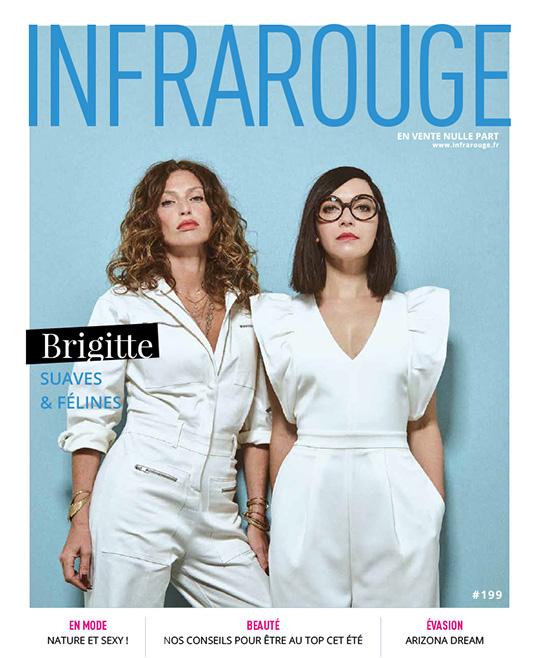 Couverture de magazine du mois de Juillet 2018