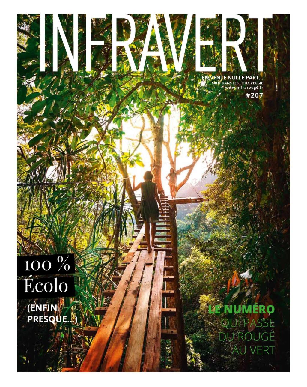 Couverture de magazine du mois de Juin 2019