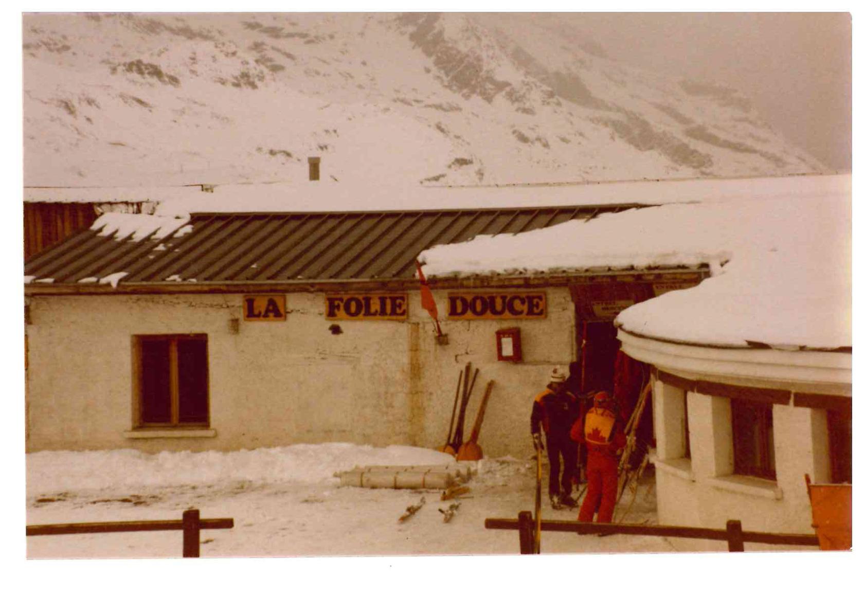 HIVER 1980 UN PETIT REFUGE DE 40 METRES CARRE