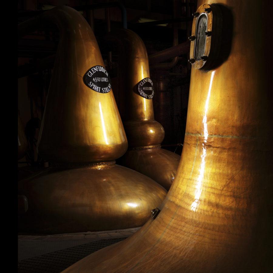 Glenfiddich Distillery Close-up